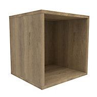 Form Konnect Oak effect 1 Cube Shelving unit (H)352mm (W)352mm (D)317mm