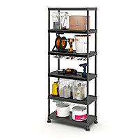 Form Links 5 shelf Polypropylene Shelving unit (H)1820mm (W)900mm