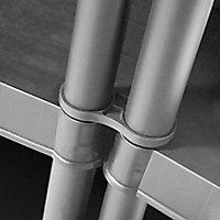 Form Major 5 shelf Polypropylene Shelving unit (H)1820mm (W)900mm