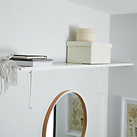 Form Rigga White Wall shelf (L)1180mm (D)190mm