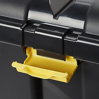 Form Skyda Black 49L Plastic Storage trunk