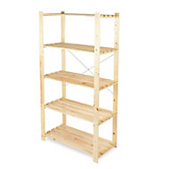 Form Symbios 5 shelf Wood Shelf unit
