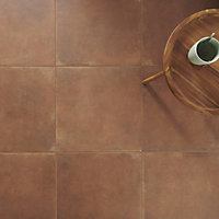 Fornace Matt Terracotta effect Porcelain Floor Tile Sample