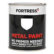 Fortress White Gloss Metal paint, 0.25L