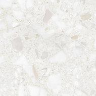 GoodHome Algiata Matt Marble effect White Worktop edging tape, (L)3m