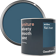GoodHome Antibes Flat matt Furniture paint, 500ml