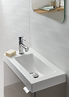 GoodHome Beni Counter-mounted Counter top Basin