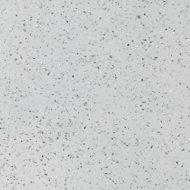 GoodHome Berberis Gloss Sparkle effect White Worktop edging tape, (L)3m