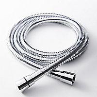 GoodHome Brass Shower hose, (L)1.5m