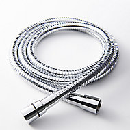 GoodHome Brass Shower hose, (L)1.75m