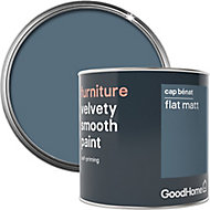 GoodHome Cap benat Flat matt Furniture paint, 500ml