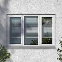 GoodHome Clear Double glazed White uPVC LH Window, (H)1040mm (W)1770mm