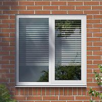 GoodHome Clear Double glazed White uPVC LH Window, (H)965mm (W)1190mm