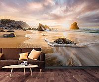 GoodHome Drimia Multicolour Beach Matt Mural