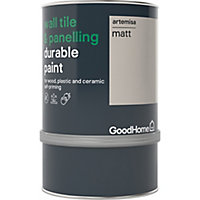 GoodHome Durable Artemisa Matt Wall tile & panelling paint, 750ml