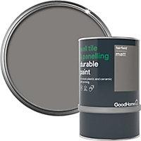 GoodHome Durable Fairfield Matt Wall tile & panelling paint, 750ml
