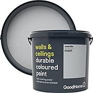 GoodHome Durable Melville Matt Emulsion paint 5L