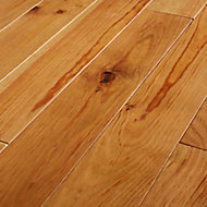 GoodHome Granna Natural Wood Solid wood flooring, 0.96m² Pack