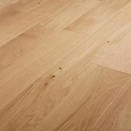 GoodHome Hedmark Natural Oak Real wood top layer flooring, 0.99m² Pack