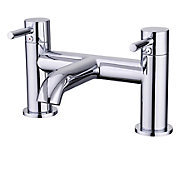 GoodHome Hoffell Chrome-plated Bath Mono mixer Tap