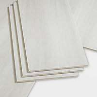 GoodHome Jazy Travertine Tile effect Click flooring, 2.23m² Pack