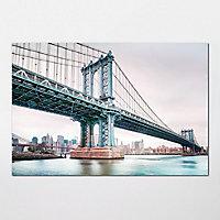 GoodHome Keetia Multicolour Hudson bridge Matt Mural