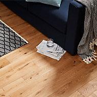 GoodHome Laholm Natural Wood Solid wood flooring, 1.48m² Pack
