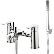 GoodHome Lecci Bath Shower mixer Tap