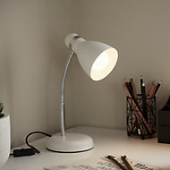 GoodHome Narajo White Table light
