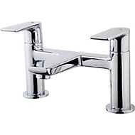 GoodHome Osani Chrome-plated Bath Mono mixer Tap