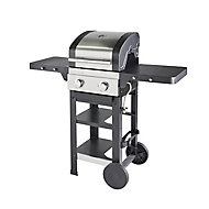 GoodHome Owsley 2.0 Black 2 burner Gas Barbecue