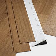 GoodHome Poprock Natural honey Wood planks Wood effect Self adhesive Vinyl plank, Pack of 7