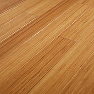 GoodHome Rayong Natural Wood Solid wood flooring, 2.21m² Pack