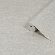 Graham & Brown Boutique Horizon Grey Textured Wallpaper