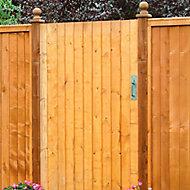 Grange Croft Timber Gate, (H)1.8m (W)0.9m