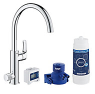 Grohe Blue Pure Chrome-plated Kitchen Side lever Tap