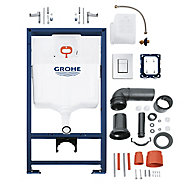 Grohe Solido Dual-flush Cistern frame set (H)1130mm