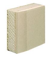 Gyproc Thermaline Tapered edge Plasterboard, (L)2.4m (W)1.2m (T)22mm
