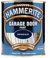 Hammerite Oxford blue High sheen Garage door paint, 750ml