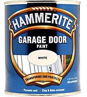 Hammerite White Gloss Garage door paint, 750ml