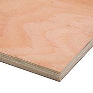 Hardwood Plywood Board (L)1.22m (W)0.61m (T)18mm