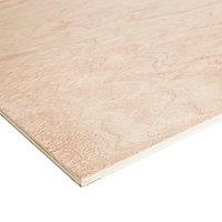 Hardwood Plywood Board (L)1.22m (W)0.61m (T)9mm