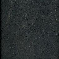 Harmonia Black Slate effect High-density fibreboard (HDF) Laminate Laminate flooring
