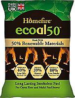 Homefire Ecoal Smokeless Soild fuel briquettes, 10kg