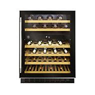 Hoover HWCB60 UK/N Black Stainless steel effect 46 bottles Wine cooler