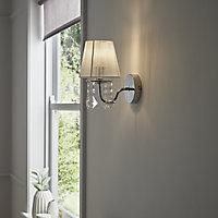 Hovland Chrome effect Wall light