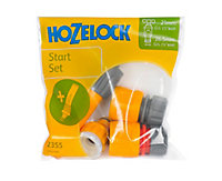 Hozelock Yellow & grey Hose pipe nozzle & connector (W)155mm