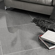 Imperiali Anthracite Porcelain Wall & floor tile, Pack of 3, (L)600mm (W)600mm