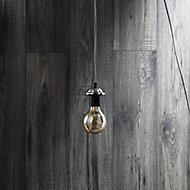 Inlight Nickel effect Steel Pendant set