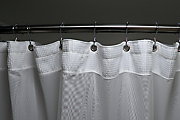 How to install a shower rail and curtain
